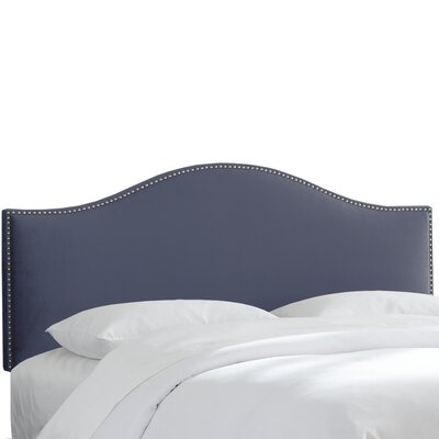 Caja Upholstered Panel Headboard Size: Twin, Upholstery: Ocean