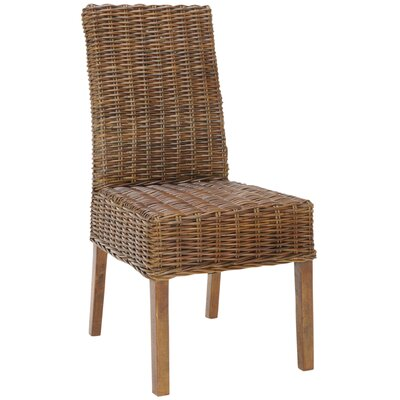 Thomas Solid Wood DIning Chair Finish: Light Brown