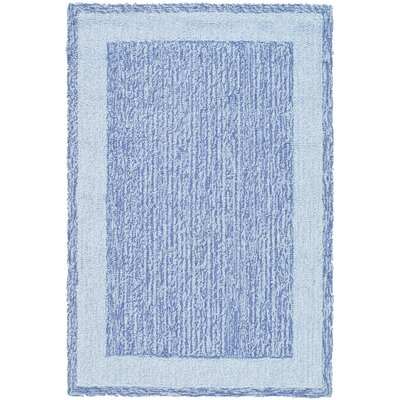 Liadan Blue Area Rug Rug Size: Rectangle 4 x 6