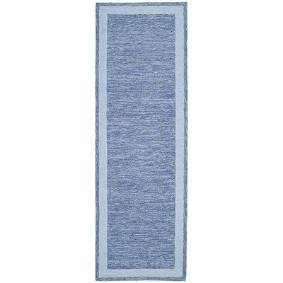 Liadan Blue Area Rug Rug Size: Runner 26 x 8