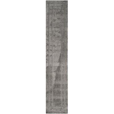 Altha Gray Area Rug Rug Size: Runner 23 x 11