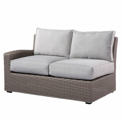 Farallon Left and Right Side Facing Love Seat Sectional with Cushions