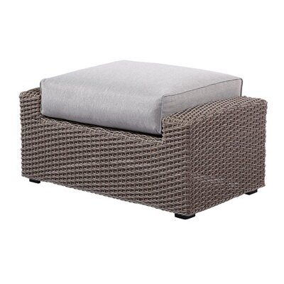 Olmsted Ottoman with Cushion