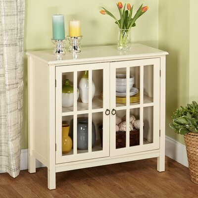 Amiee Cabinet- Bitmore Cabinet with Wooden Top by Beachcrest Home