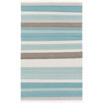 Garcon Point Blue Area Rug Rug Size: Rectangle 5 x 76