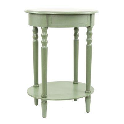 Crestmont End Table Color: Sienna