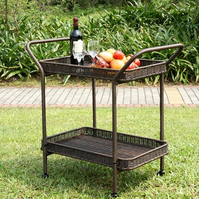 Petherton Serving Cart Finish: Espresso