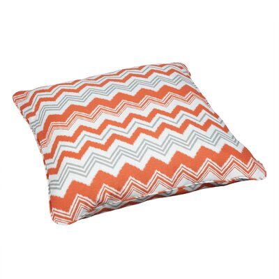 Deepwater Indoor/Outdoor Euro Pillow Fabric: Zazzle Tango