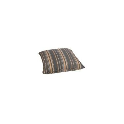 Hinesburg Indoor/Outdoor Euro Pillow Fabric: Multi-Colored Stripes