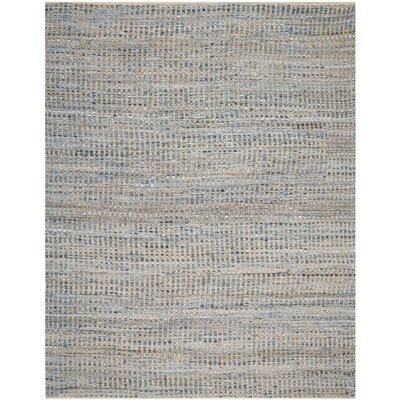 Gilchrist Natural/Blue Area Rug Rug Size: 8 x 10