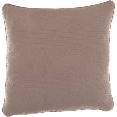 Bay Quilted Decorative Cotton Throw Pillow