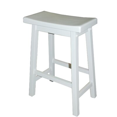 Kirkwood 24 Bar Stool Finish: White