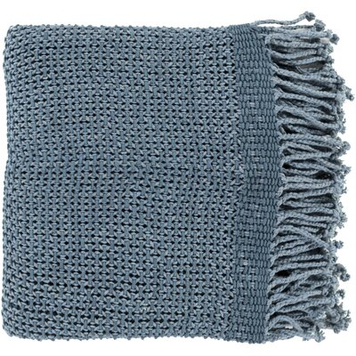 Buckhead Ridge Cotton Throw Blanket Color: Slate