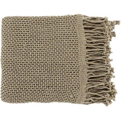 Buckhead Ridge Cotton Throw Blanket Color: Olive