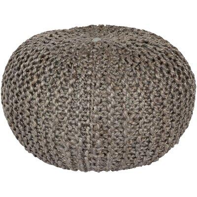 Odin Sphere Pouf Ottoman Upholstery: Gray