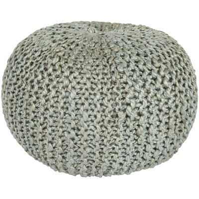 Odin Sphere Pouf Ottoman Upholstery: Light Gray