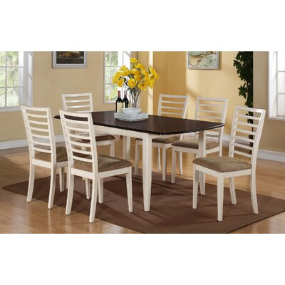 Thatcher Dining Table Finish: Molasses / White