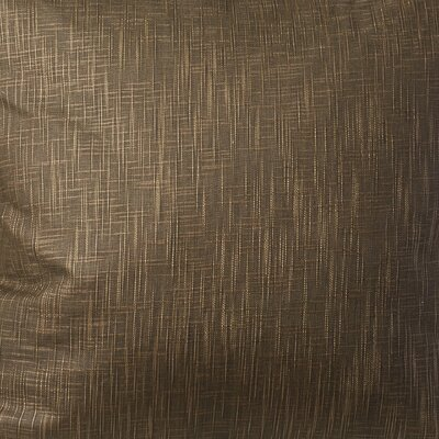 Arvie Linen Throw Pillow Size: 22 H x 22 W, Color: Brown