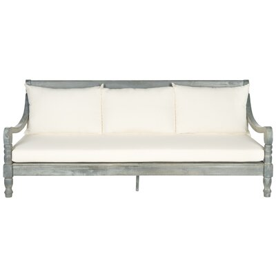 Cheval Daybed Color: Ash Grey/Beige