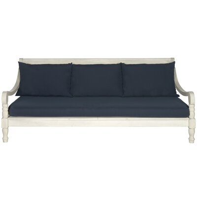 Cheval Daybed Color: Antique White/Navy