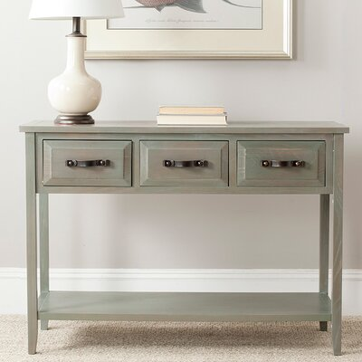 Crystal River Console Table Finish: French Gray