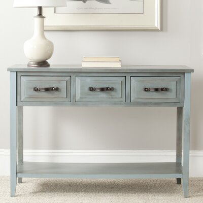 Crystal River Console Table Finish: Barn Blue