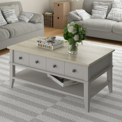Montverde Coffee Table Base Finish: Taupe