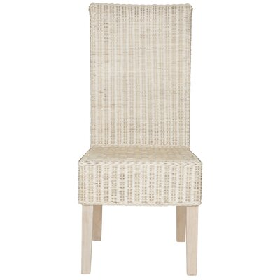 Baldwin Solid Wood Dining Chair Finish: White Washed