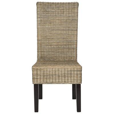 Baldwin Solid Wood Dining Chair Finish: Gray