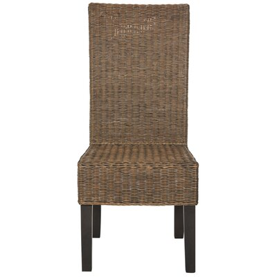 Baldwin Solid Wood Dining Chair Finish: Brown