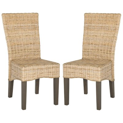 Calypso Solid Wood Dining Chair Finish: Natural