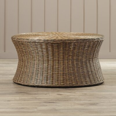 Bowling Green Cocktail Ottoman Finish: Dark Brown