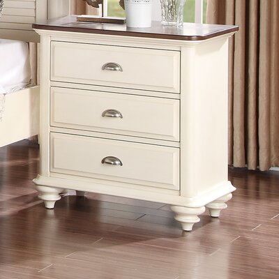 Sandhill 3 Drawer Nightstand