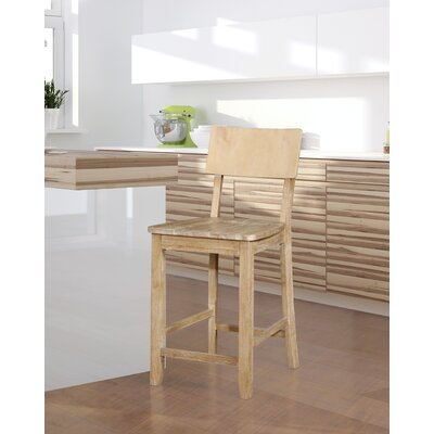 Bonifay 24 Bar Stool Finish: Natural