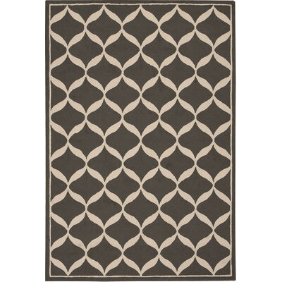 Holden Heights Hand-Tufted Grey Area Rug Rug Size: 5 x 7