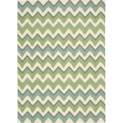 Villano Blue Area Rug Rug Size: Rectangle 5 x 7