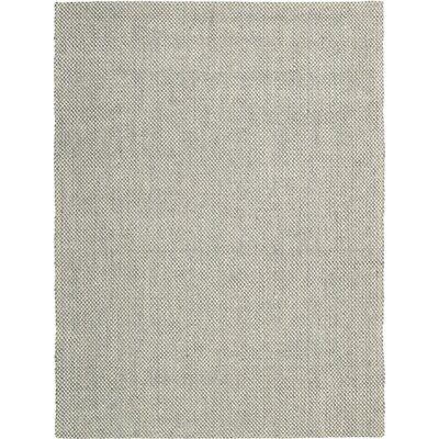 Moon Lake Handmade Grey Area Rug Rug Size: 8 x 11