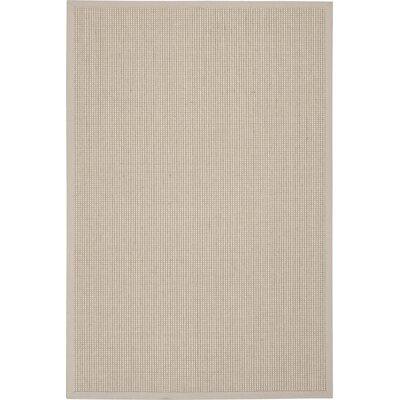 Melaina Hand-Woven Mist Area Rug Rug Size: 4 x 6
