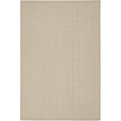 Melaina Hand-Woven Beige Area Rug Rug Size: Rectangle 5 x 76