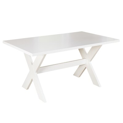Medulla Dining Table Finish: White