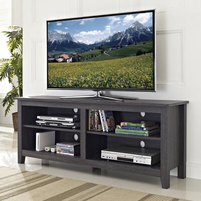 Sunbury 58 TV Stand Color: Charcoal