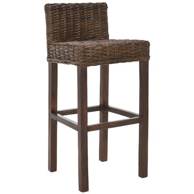 Gonzalez 29.5 Bar Stool Finish: Brown