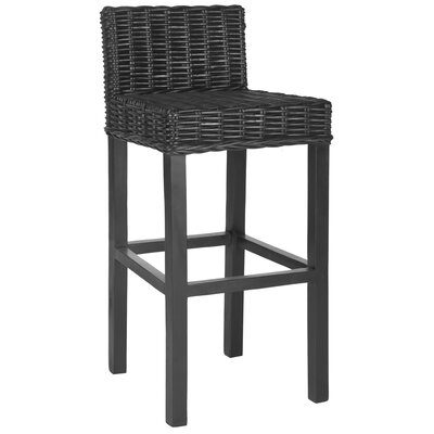 Gonzalez 29.5 Bar Stool Finish: Black