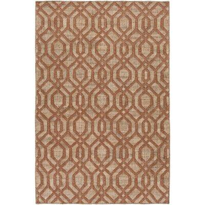 Cheyney Hand Woven Brown/Beige Area Rug Rug Size: 8 x 11