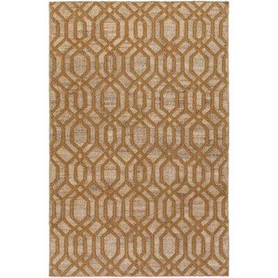 Cheyney Hand Woven Beige/Brown Area Rug Rug Size: 8 x 11