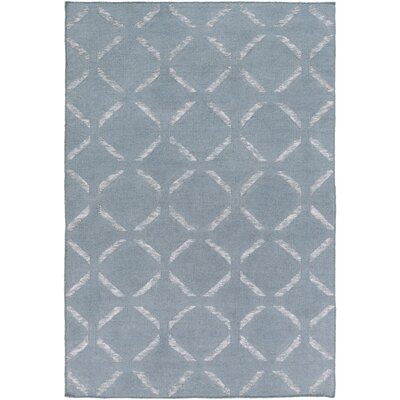 Chesterton Hand Woven Blue Area Rug Rug Size: 4 x 6