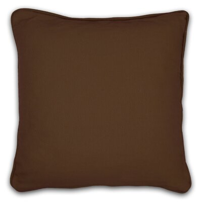 South Peninsula Throw Pillow Color: Chocolate