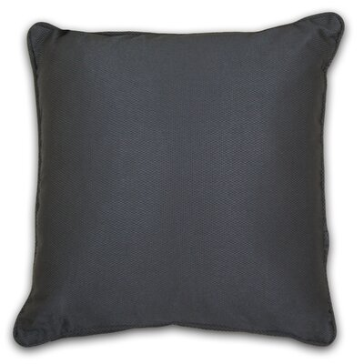 South Peninsula Throw Pillow Color: Pewter