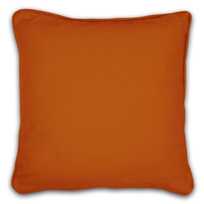 South Peninsula Throw Pillow Color: Orange