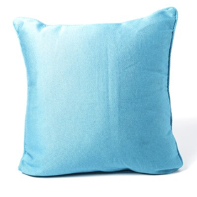 South Peninsula Throw Pillow Color: Turquoise